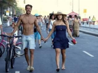Priscila Fantin e o namorado, Renan Abreu