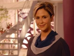 Luisa, personagem da novela Ti ti ti, não aceita que sofre de gravidez psicológica