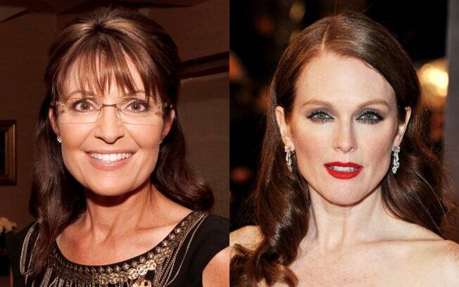 Sarah Palin e Julianne Moore