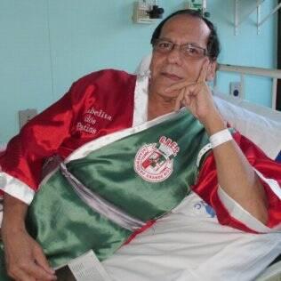 Jorge Omar Iglesias, mais conhecido como Isabelita dos Patins, falou ao iG quando estava no hospital
