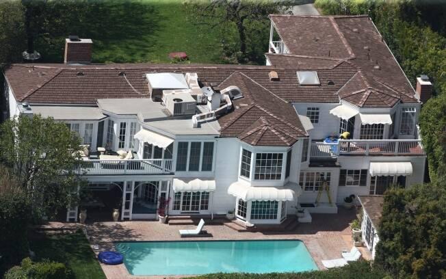 A mansão de Kate Hudson, em Pacific Palisades