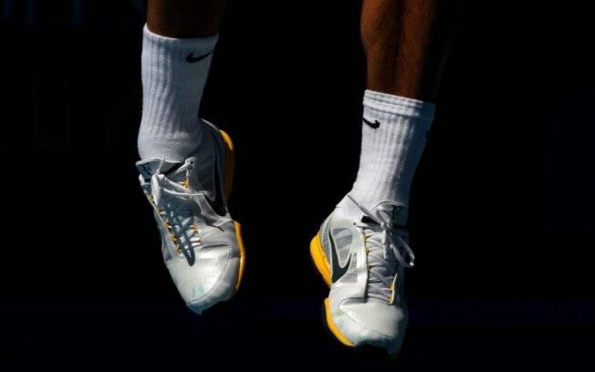 db5a2f6d9 O Nike Lunar Vapor 8 Tour personalizado de Roger Federer custa R$ 449,90 ...