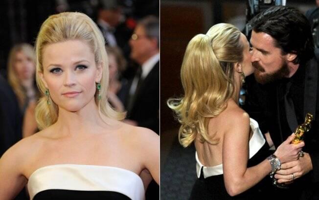 Reese Witherspoon subiu ao palco para apresentar a categoria Melhor Ator Coadjuvante