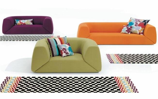 A primeira loja com móveis e louças da Missoni foi inaugurada em abril deste ano, no shopping Iguatemi de Brasília