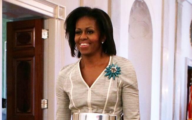 Michelle Obama: campanha em pró do exército norte-americano