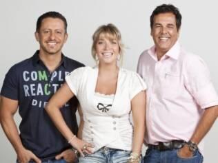 Marco Camargo, Luiza Possi e Rick Bonadio: jurados da quarta edição de