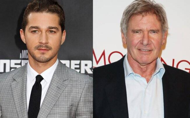 Harrison Ford e Shia LaBeouf