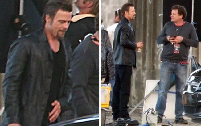 O ator interpreta um detetive no filme, que fala de assalto, pôquer e máfia