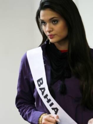Gabriella Rocha, Miss Bahia ensaia passo para coreografia do concurso