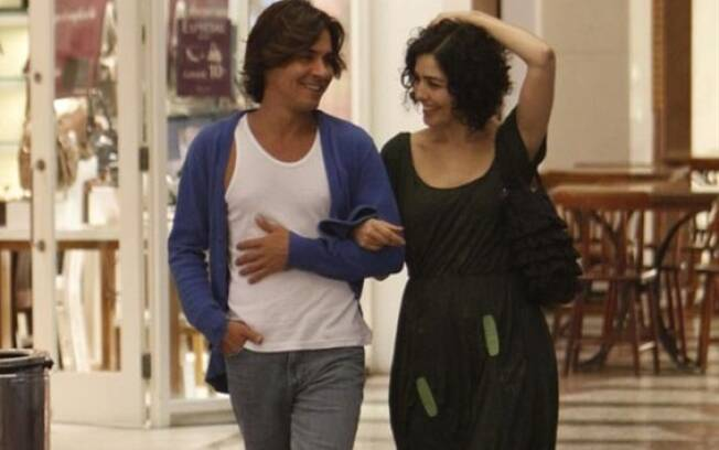 André Gonçalves e Letícia Sabatella: juntos desde 2009