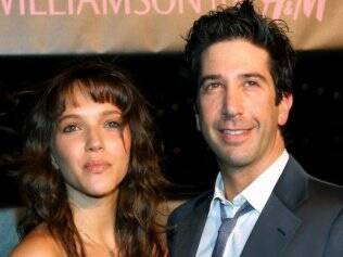 David Schwimmer e Zoe Buckman