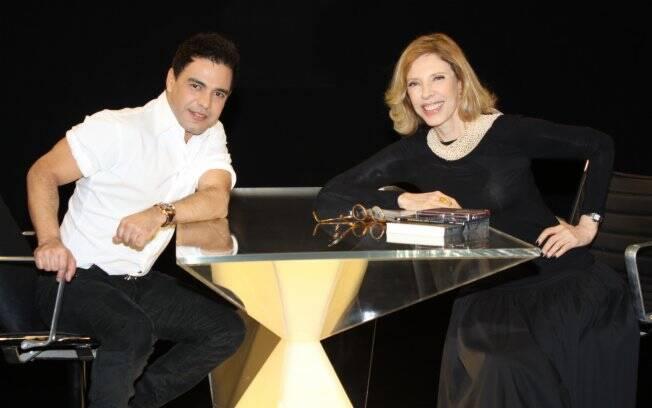 Zezé di Camargo e Marília Gabriela