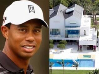 Tiger Woods e a mansão com três piscinas