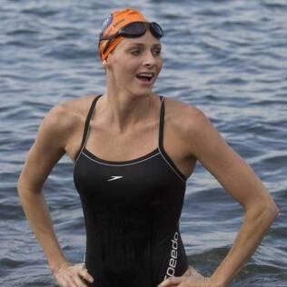 Charlene Wittstock começou a nadar aos três anos de idade