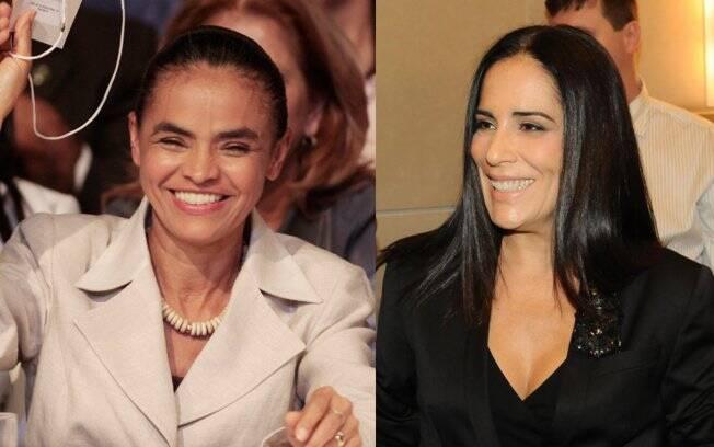 Marina Silva e Gloria Pires: da vida real para as telonas?