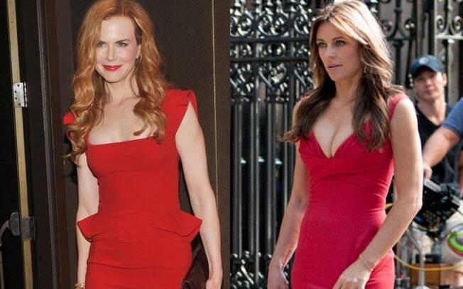 Nicole Kidman e Elizabeth Hurley