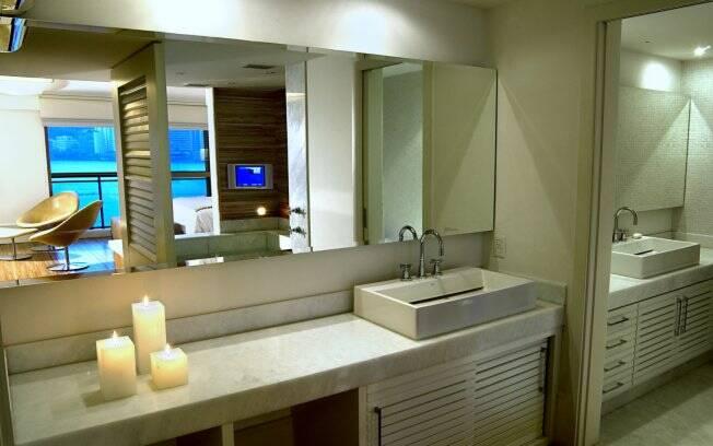 Janela Banheiro Suite : Banheiro aberto para o quarto arquitetura ig
