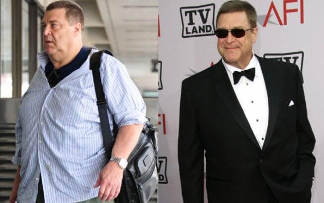 John Goodman: antes e depois