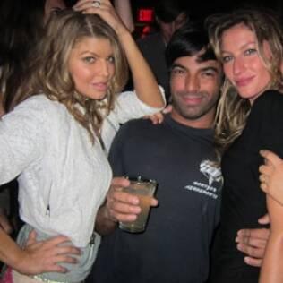 Fergie, Harry Josh e Gisele Bündchen