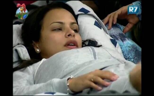 A modelo Taciane Ribeiro conta que quase perdeu sua mãe em acidente