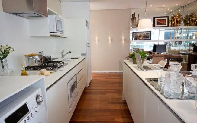 Sem paredes e com muito charme arquitetura ig for Modelos de cocinas americanas pequenas