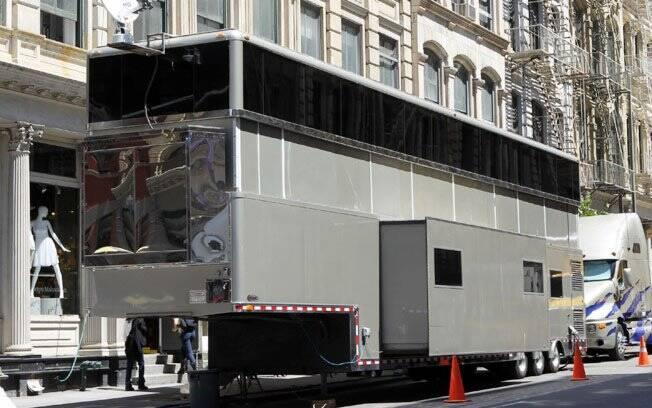 Um dos trailers usados por Will Smith
