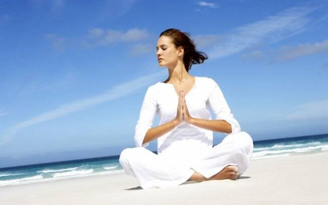 Concentração e respiração ajudam a relaxar a mente e combater a ansiedade