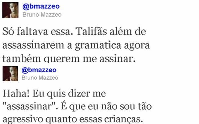 Bruno Mazzeo posta comentários pedindo providências de Luan Santana