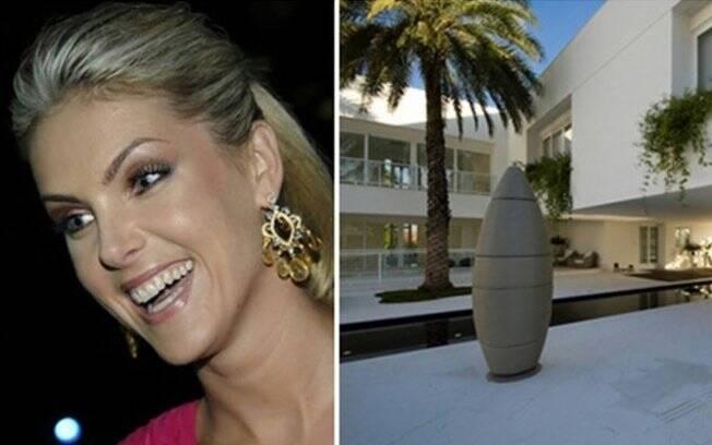 Ana Hickmann empresta sua mansão para reality show