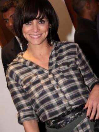 Suzana Pires estava entre os convidados do