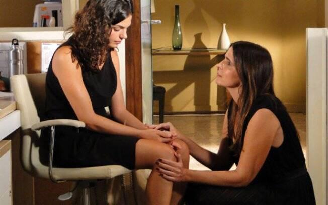 Marcela abre seu coração e chora ao conversar com Suzana