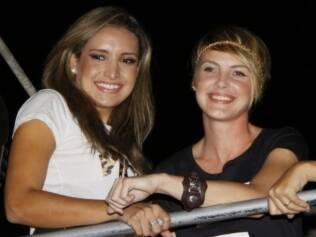 Natália e Diana na micareta Rio Axé