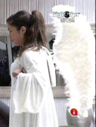 Maria leva a melhor na Prova do Anjo