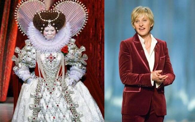 Woopy Goldberg e Ellen DeGeneres