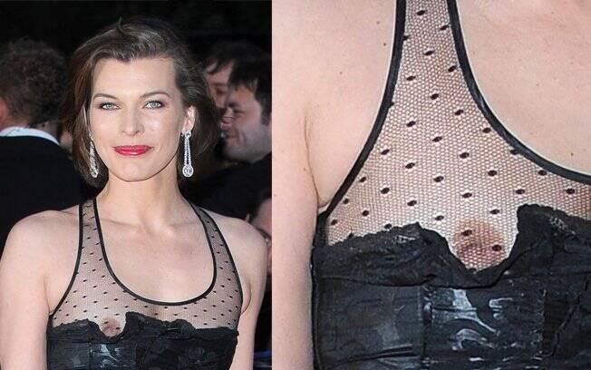 Derrapada no visual da atriz: o babado fora do lugar mostrou mais do que devia
