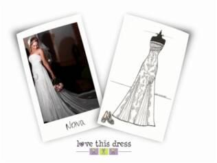 Sketch da Love This Dress