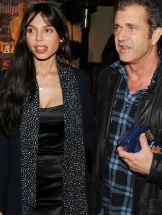 Mel Gibson e a ex-mulher, a russa Oksana Grigorieva