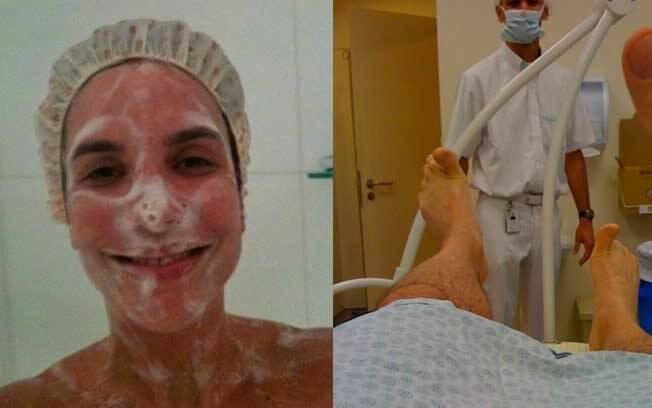 Ivete Sangalo postou sua foto no banho. Otávio Mesquita também compartilhou um momento íntimo: sua vasectomia