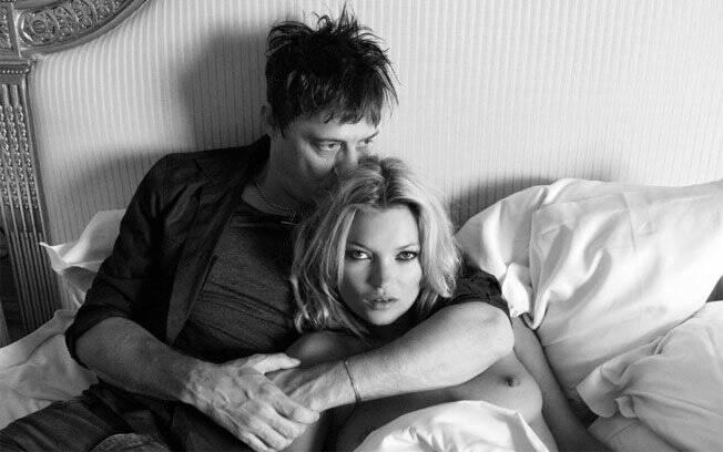 Kate Moss e Jamie Hince: clicados por Terry Richardson no Ritz Hotel