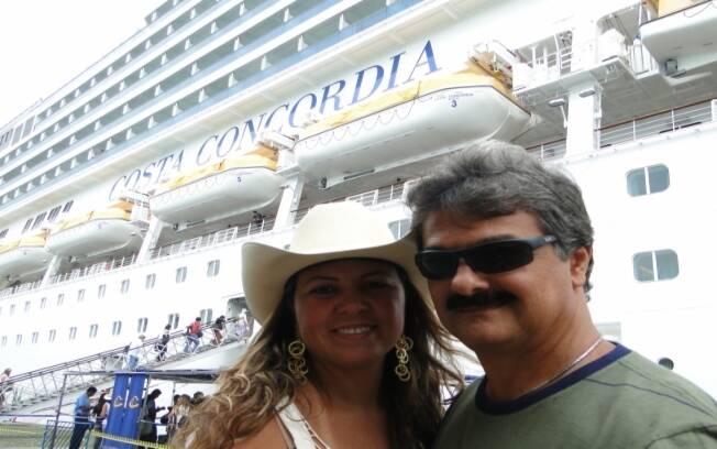 Yrena Dantas e o marido vão pela terceira vez no cruzeiro