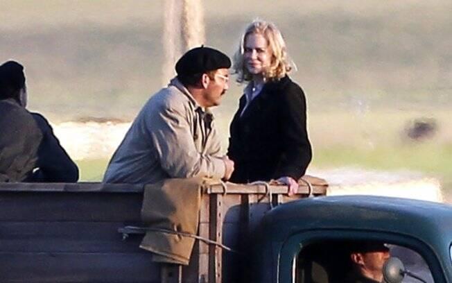 Nicole Kidman e Clive Owen em cena