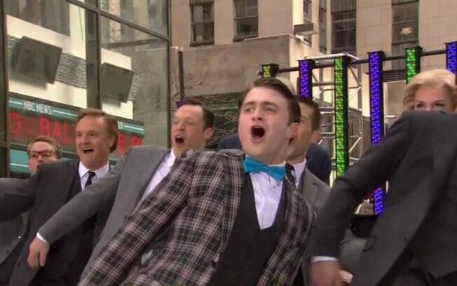 Daniel Radcliffe apresentou o musical