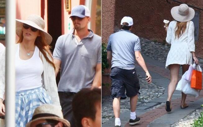 Leonardo DiCaprio e Blake Lively circularam juntos em Portofino