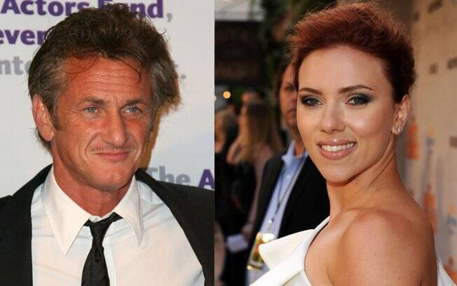 Sean Penn e Scarlett Johansson