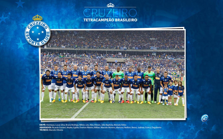 1c707db0cc Cruzeiro campeão brasileiro 2014  heróis do tetra