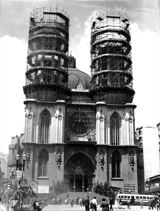 Fachada da Catedral da Sé