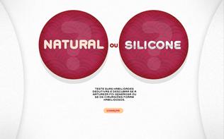 Natural ou silicone
